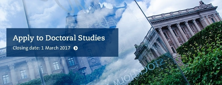 Apply to Doctoral Studies